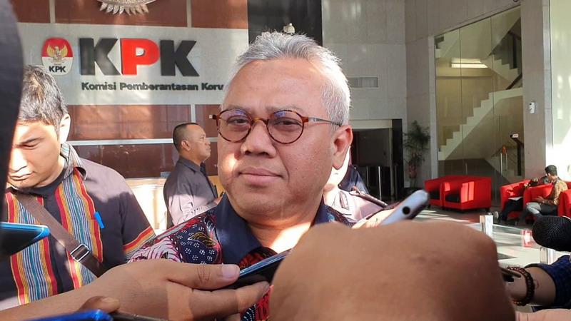Ketua KPU Arif Budiman (Okezone/Arie)