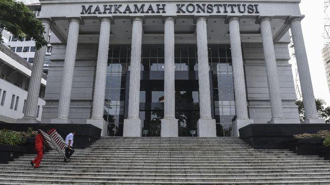 Gedung Mahkamah Konstitusi, Jakarta.(ANTARA FOTO/Hafidz Mubarak)