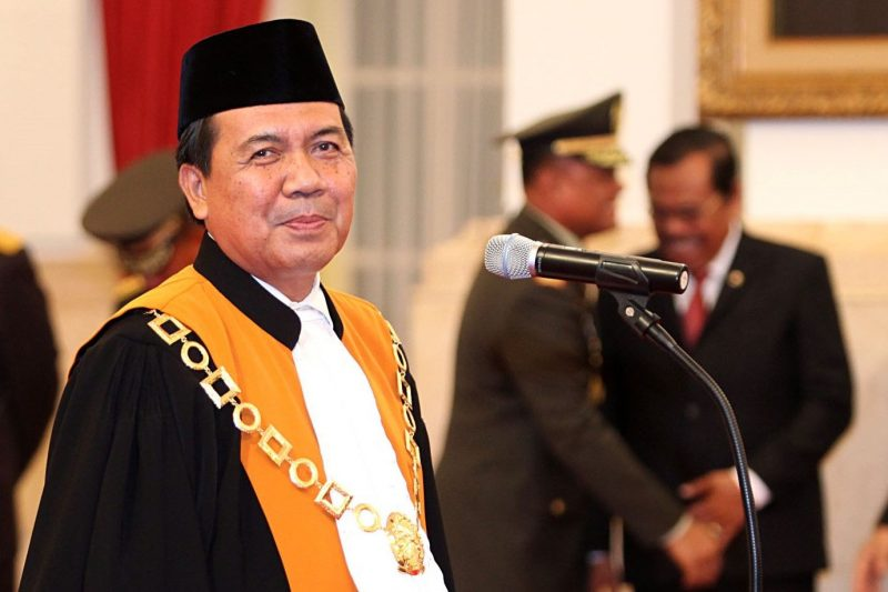 Ketua MA Muhammad Syarifuddin (Media Indonesia:Panca Syurkani)