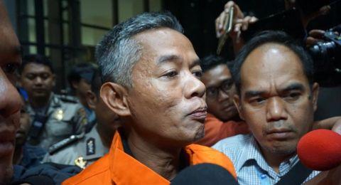 Komisioner KPU Wahyu Setiawan. (Suara.com/Welly Hidayat)