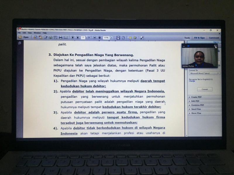 Fokus Online Justitia bersama James Purba pada Jumat (22/5).