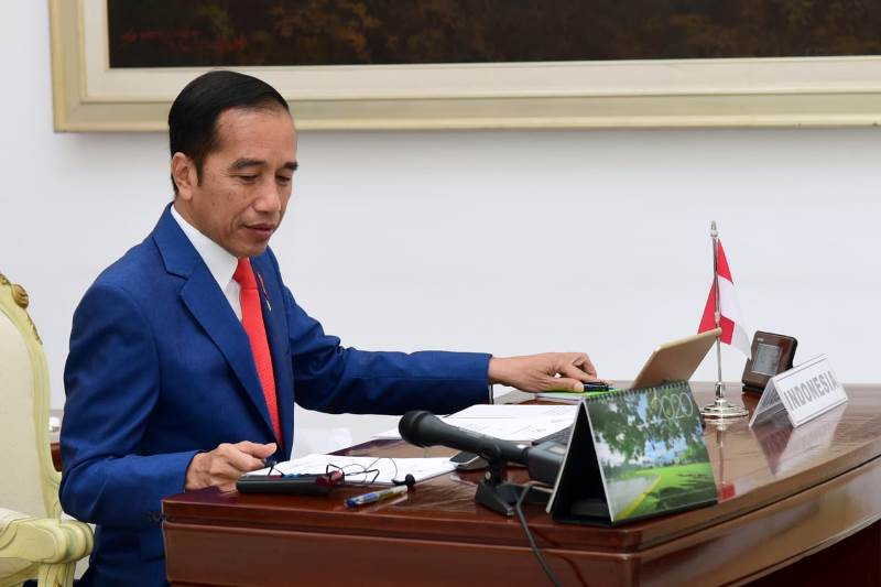 Presiden Joko Widodo diminta menghadiri sidang gugatan Perppu Corona di MK pada Rabu (20/5) pekan depan. (Foto: Dok. Biro Sekretariat Presiden/Muchlis)