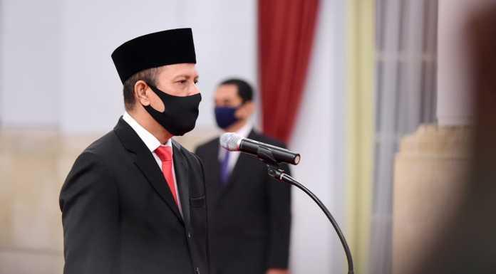 Presiden Joko Widodo melantik Boy Rafli Amar sebagai Kepala Badan Nasional Penanggulangan Terorisme (BNPT) menggantikan Suhardi Alius (Makassar Terkini)