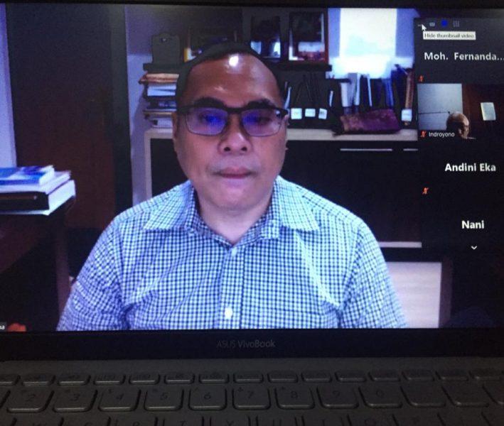 Prof. Hikmahanto Juawana (MediaJustitia/Fernanda)