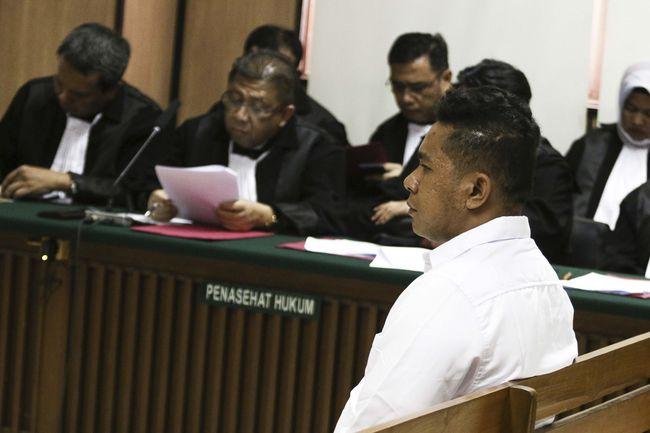 Pelaku diklaim tak berniat melakukan penganiayaan berat terhadap Novel Baswedan. (ANTARA FOTO/Rivan Awal Lingga)