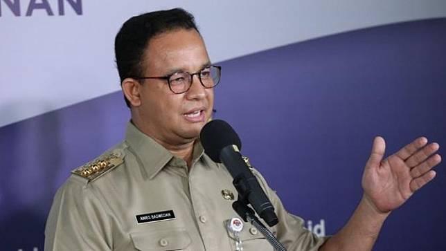 Gubernur DKI Jakarta Anies Baswedan (Liputan6.com/Faizal Fanani)