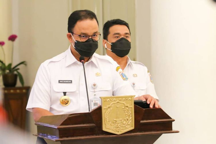 Gubernur DKI Jakarta Anies Baswedan/Kompas.com