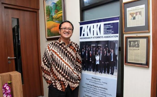 Dr. Suyud Margono Ketua Umum Asosiasi Konsultan HKI/sumber: innews.co.id