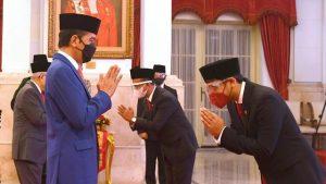 Presiden Jokowidodo melakukan Reshuflle Mentri Kabinet Indonesia Maju Kedua Kalinya